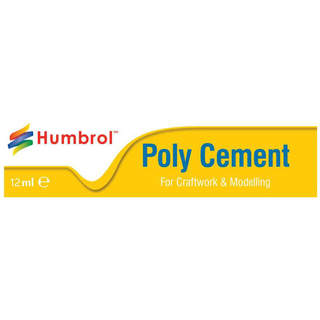 Humbrol Poly Cement lepidlo na plasty 12ml