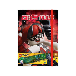 LEGO zápisník - Batman Movie (Harley Quinn/Batgirl)