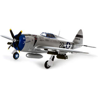 E-flite P-47 Razorback 1.2m SAFE Select BNF Basic