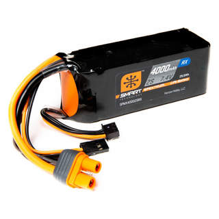 Spektrum Smart LiPo 7.4V 4000mAh Rx IC3