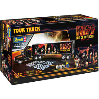 Revell Kiss Tour Truck (1:32) (Gift-Set)