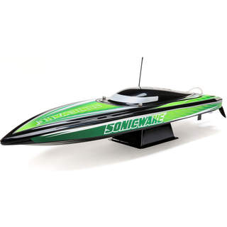 "Proboat Sonicwake 36"" Self-Right Deep-V BL RTR černý"