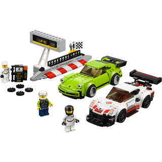 LEGO Speed Champions - Porsche 911 RSR a 911 Turbo 3,0