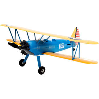 E-flite PT-17 Ultra Micro 0.4m AS3X BNF