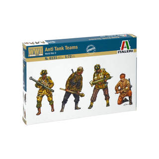 Italeri figurky - WWII ANTI TANK TEAMS (1:72)