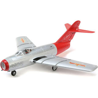 E-flite MiG-15 0.4m SAFE Select BNF Basic