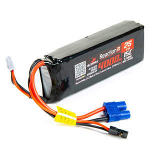 Dynamite LiPo Reaction2 7.4V 4000mAh 15C Rx