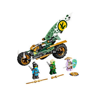 LEGO Ninjago - Lloydova motorka do džungle