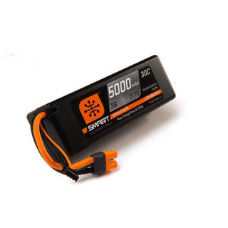 Spektrum Smart LiPo 11.1V 5000mAh 30C HC IC3