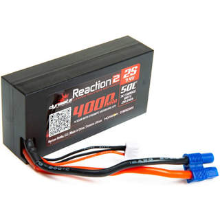 Dynamite LiPo Reaction2 7.4V 4000mAh 50C 96mm EC3