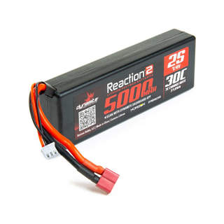 Dynamite LiPo Reaction2 7.4V 5000mAh 30C Deans